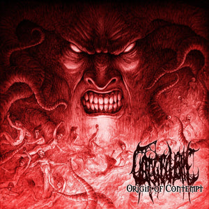 GORGED BILE - Origin of Contempt CD