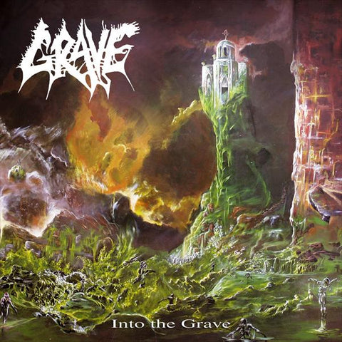 GRAVE - Into the Grave CD