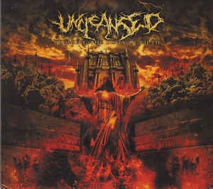 UNCLEANSED - Defacing The Deity Of Filth CD Cardsleeve