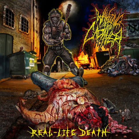 WAKING THE CADAVER - Real Life Death CD