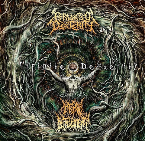 INFINITE DEFILEMENT / PERVERTED DEXTERITY - Infinite Dexterity CD