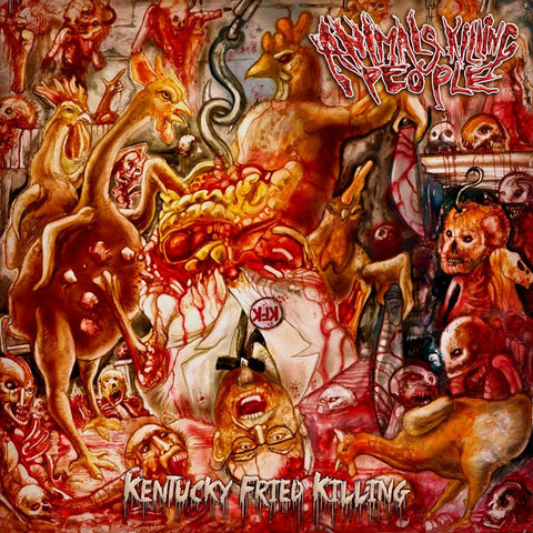 ANIMALS KILLING PEOPLE - Kentucky Fried Killing CD