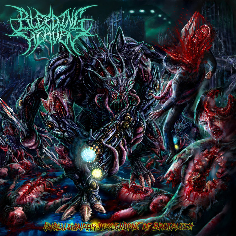 BLEEDING HEAVEN - Evolutionary Descendant Brutality CD
