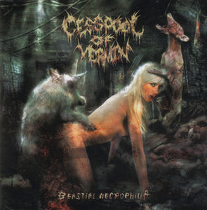CESSPOOL OF VERMIN - Beastial Necrophilia CD