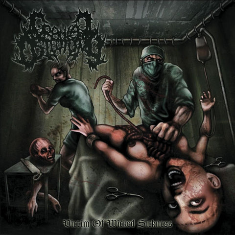 CRANIAL OSTEOTOMY - Victim Of Wicked Sickness CD