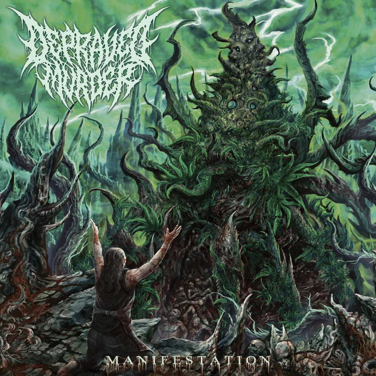 DEPRAVED MURDER - Manifestation CD