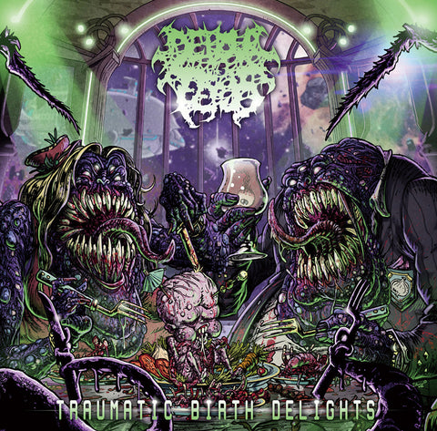 DEVOUR THE FETUS - Traumatic Birth Delights CD