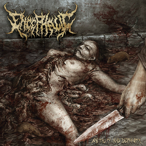 ENCEPHALIC - Brutality And Depravity CD