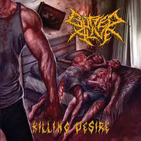 GUTTED ALIVE - Killing Desire CD