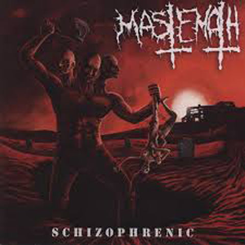 MASTEMATH - Schizophrenic CD