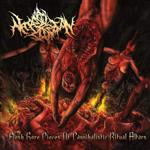 NECROPSY DEFECATION - Flesh Gore Pieces Of Cannibalistic Ritual Altars CD