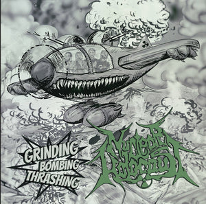NUCLEAR HOLOCAUST - Grinding Bombing Thrashing CD