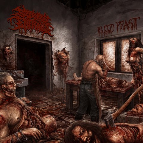 SEVERED ENTRAILS - Blood Feast MCD