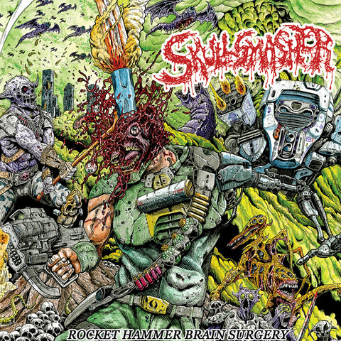 SKULLSMASHER - Rocket Hammer Brain Surgery CD