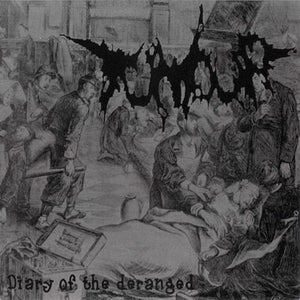TUMOUR / CANNIBE - Diary Of The Deranged / Files Of A Mental Disturbed CD