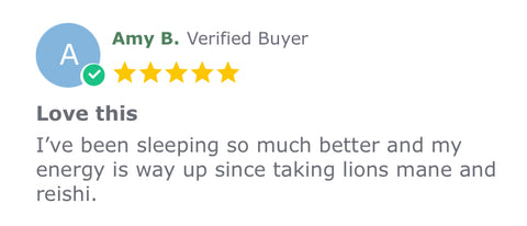 Lion's Mane Before Bed Reviews