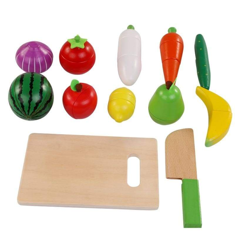 Magnetic Wooden Fruit & Vegetable Set
