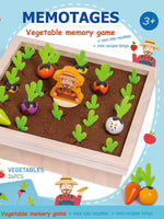 Load image into Gallery viewer, Radish Vegetables Learning Game