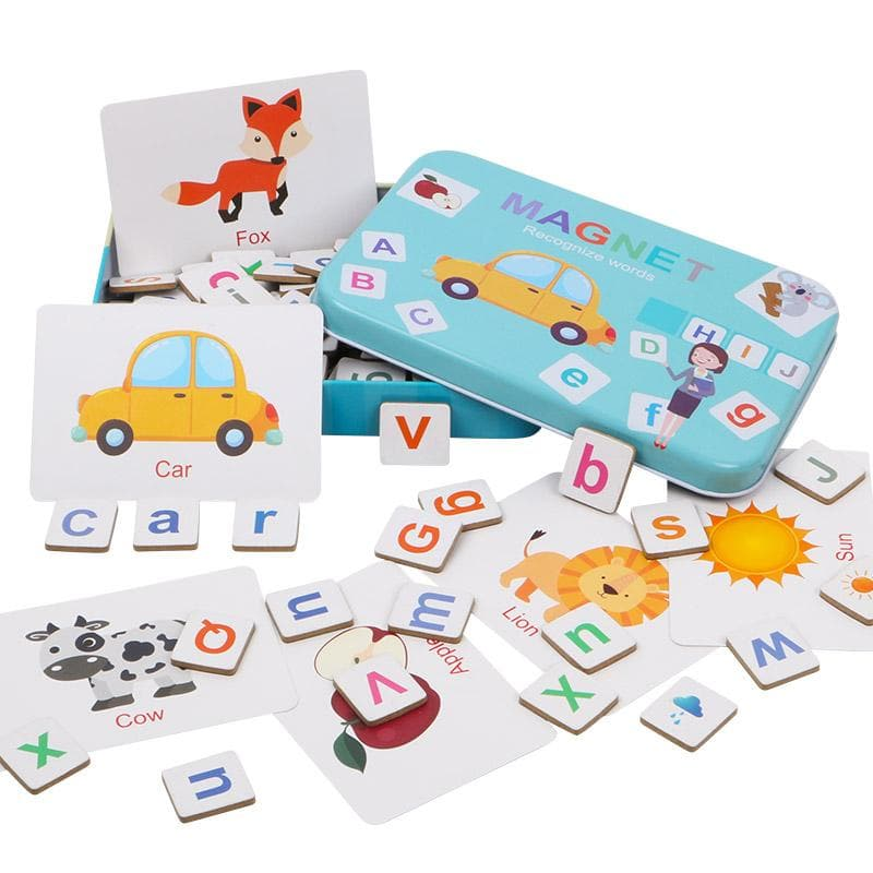"Magnetic ""School in a Box"""