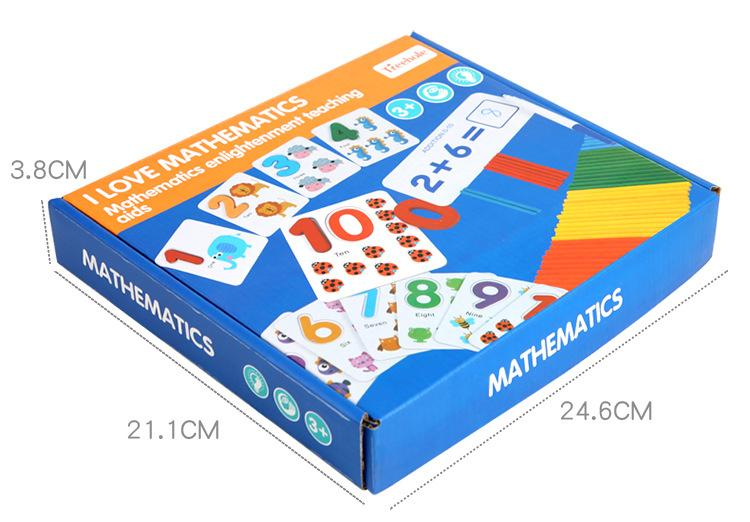 I Love Math Games Box
