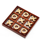 Load image into Gallery viewer, Wooden Tic Tac Toe For Kids