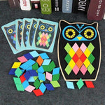 Load image into Gallery viewer, Jigsaw Owl-Fish Blocks Game