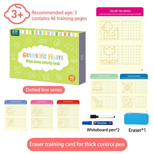 Write & Wipe Educational Activities Cards