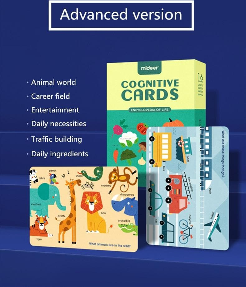 Cognitive Cards Game