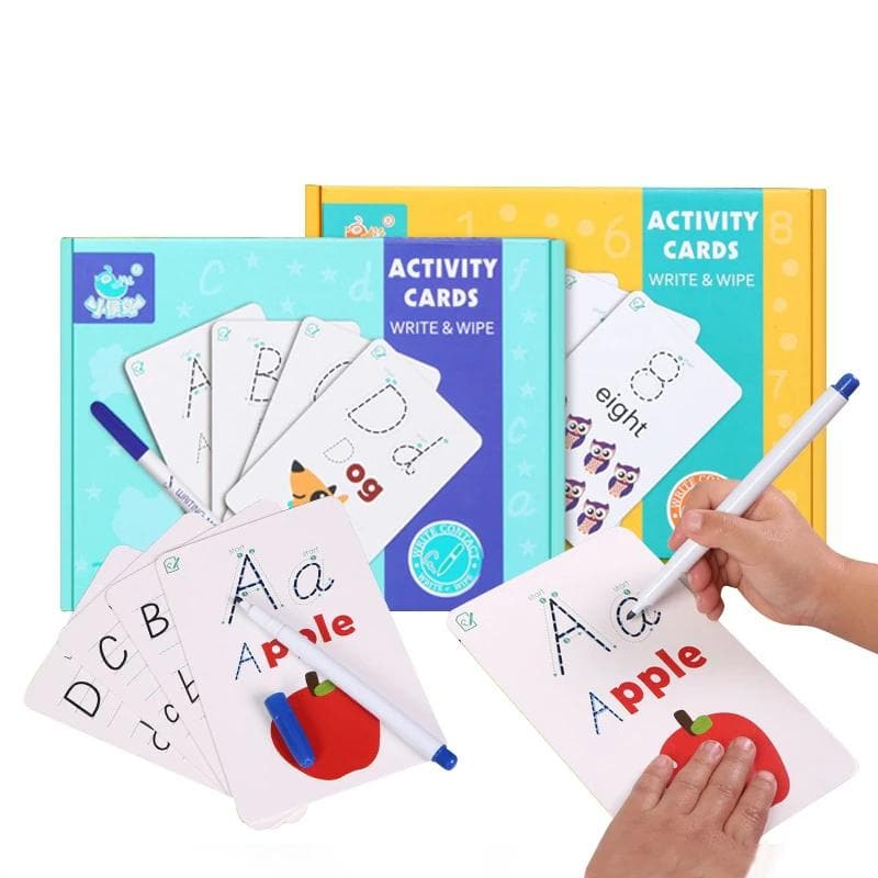 Write & Wipe Learning Cards