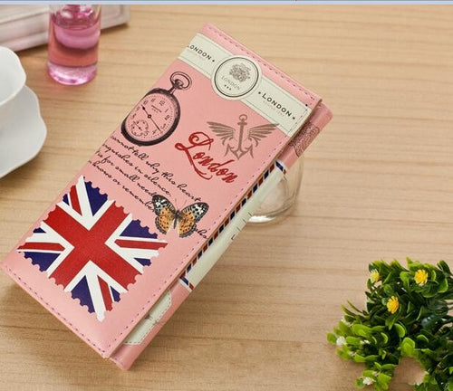 Women's London England Themed Wallet