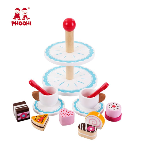 Wooden Afternoon Tea Set Toy