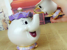 Load image into Gallery viewer, Mrs. Potts & Chip Tea Set