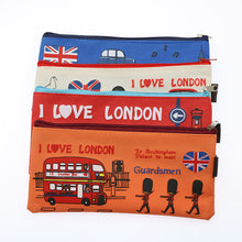 Load image into Gallery viewer, London Themed Makeup Bag