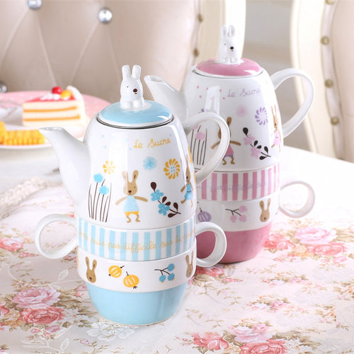 Children's Stacking Tea Set