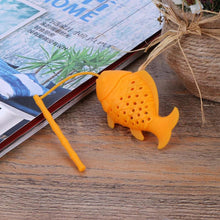 Load image into Gallery viewer, Fish Shaped Silicone Tea Infuser