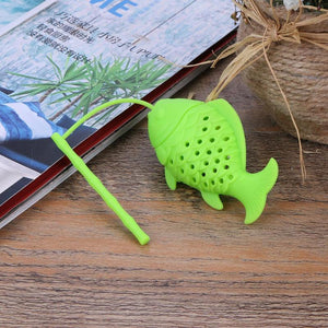 Fish Shaped Silicone Tea Infuser