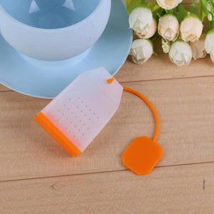 Simple Tea Bag Shaped Silicone Tea Infuser