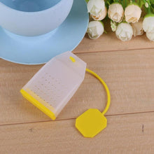 Load image into Gallery viewer, Simple Tea Bag Shaped Silicone Tea Infuser