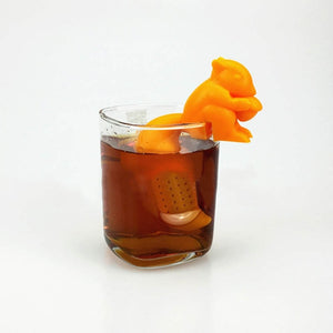 Silicone Squirrel Shaped Tea Infuser