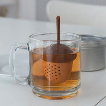 Load image into Gallery viewer, Acorn Shaped Silicone Tea Infuser