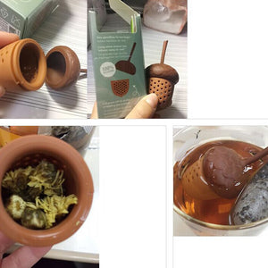 Acorn Shaped Silicone Tea Infuser