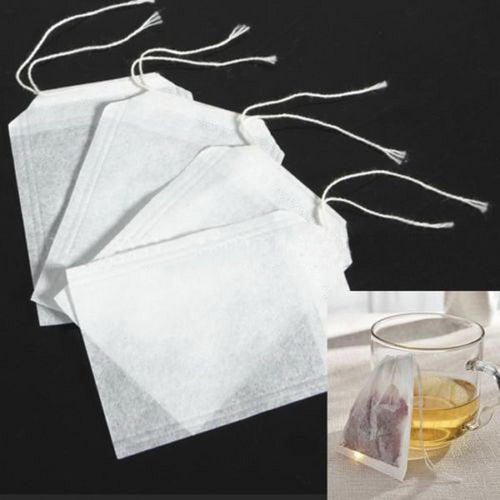 100Pcs Fillable Tea Bags