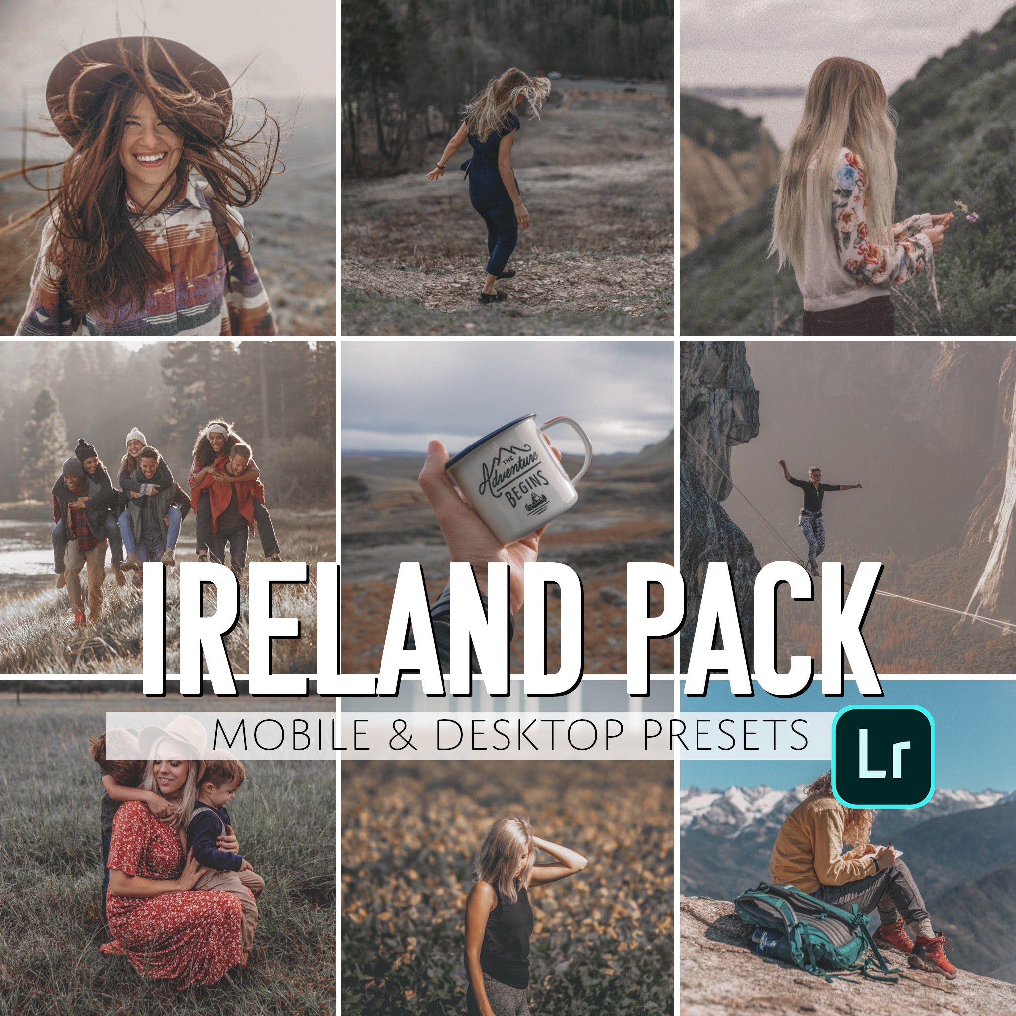 Ireland Mobile & Desktop Presets