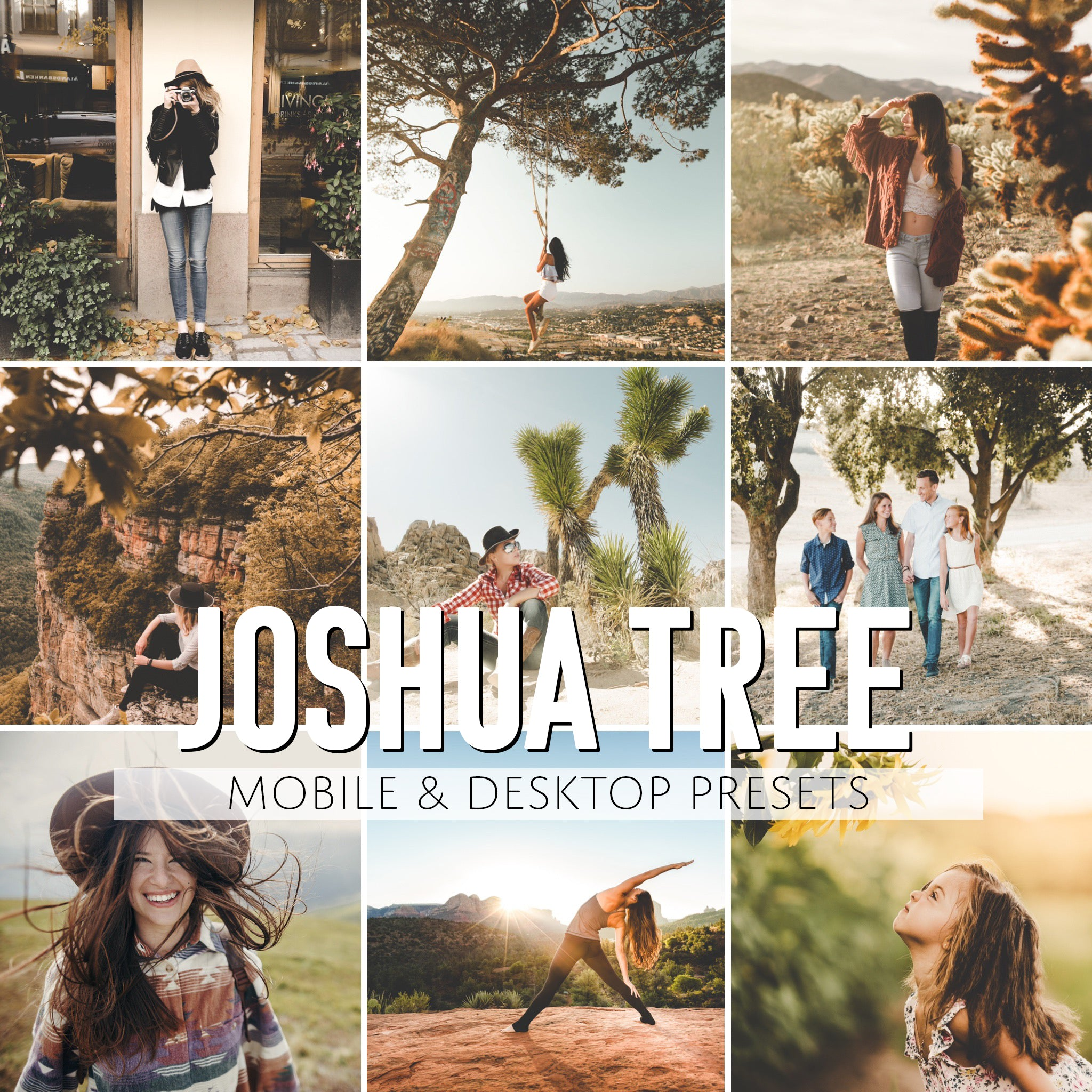 Joshua Tree Mobile & Desktop Presets