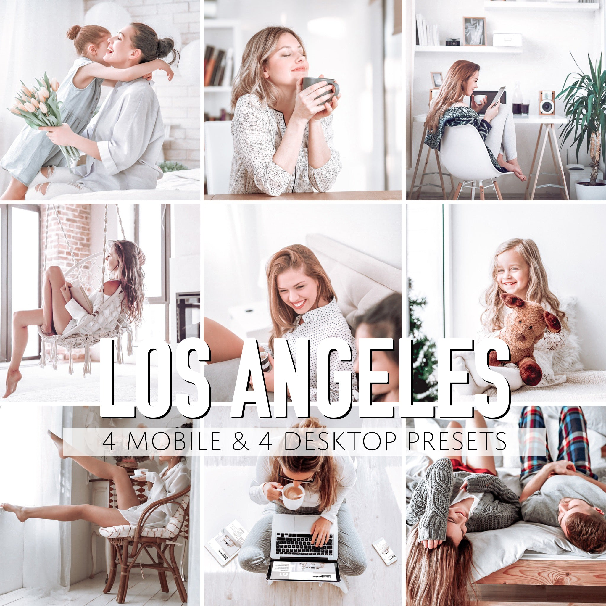Los Angeles Mobile & Desktop Presets