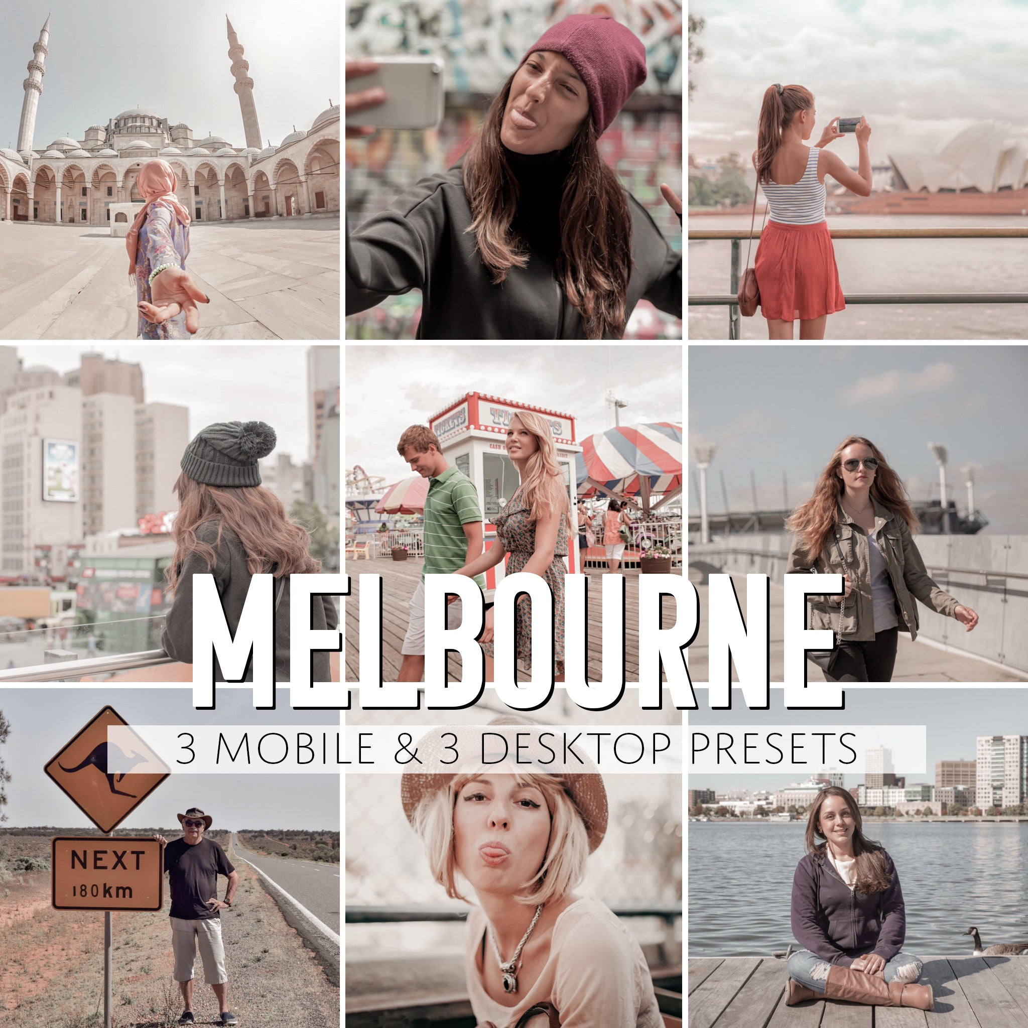 Melbourne Mobile & Desktop Presets