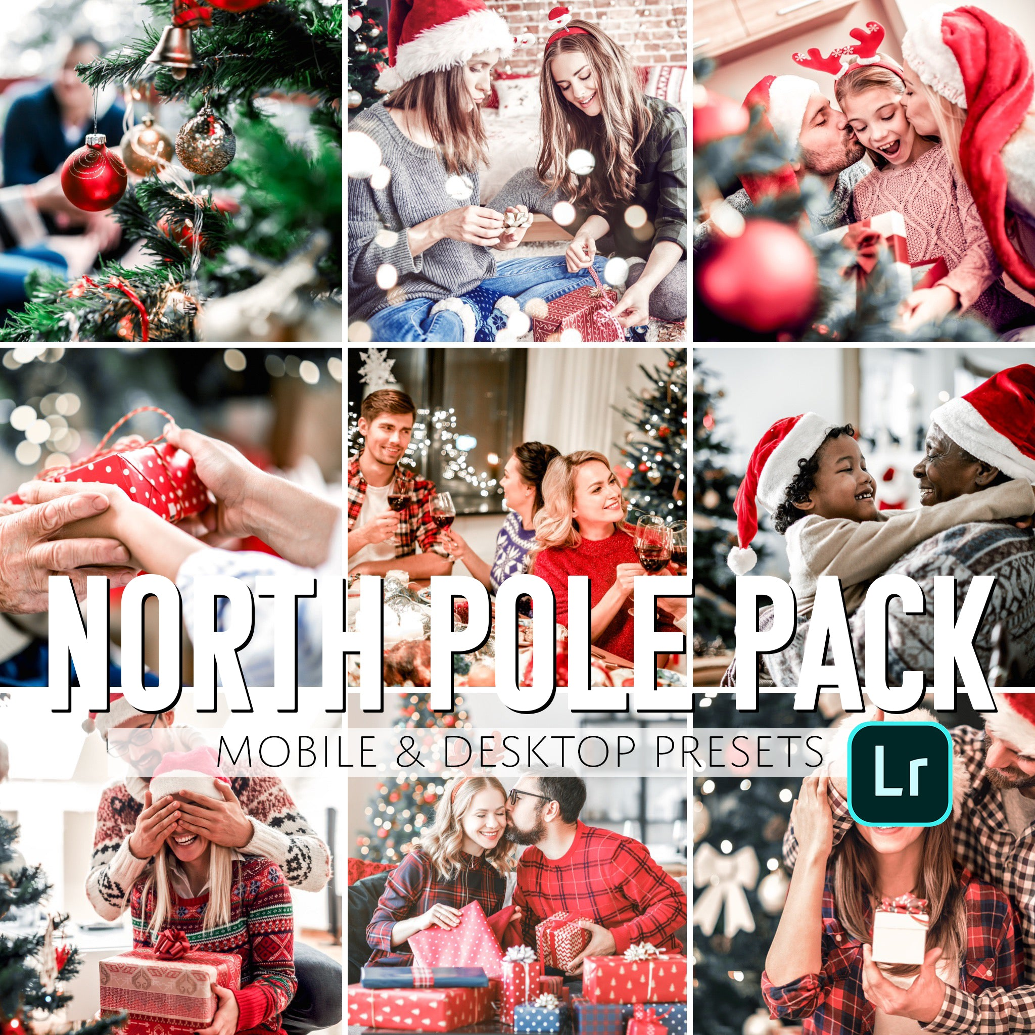 North Pole Mobile & Desktop Presets