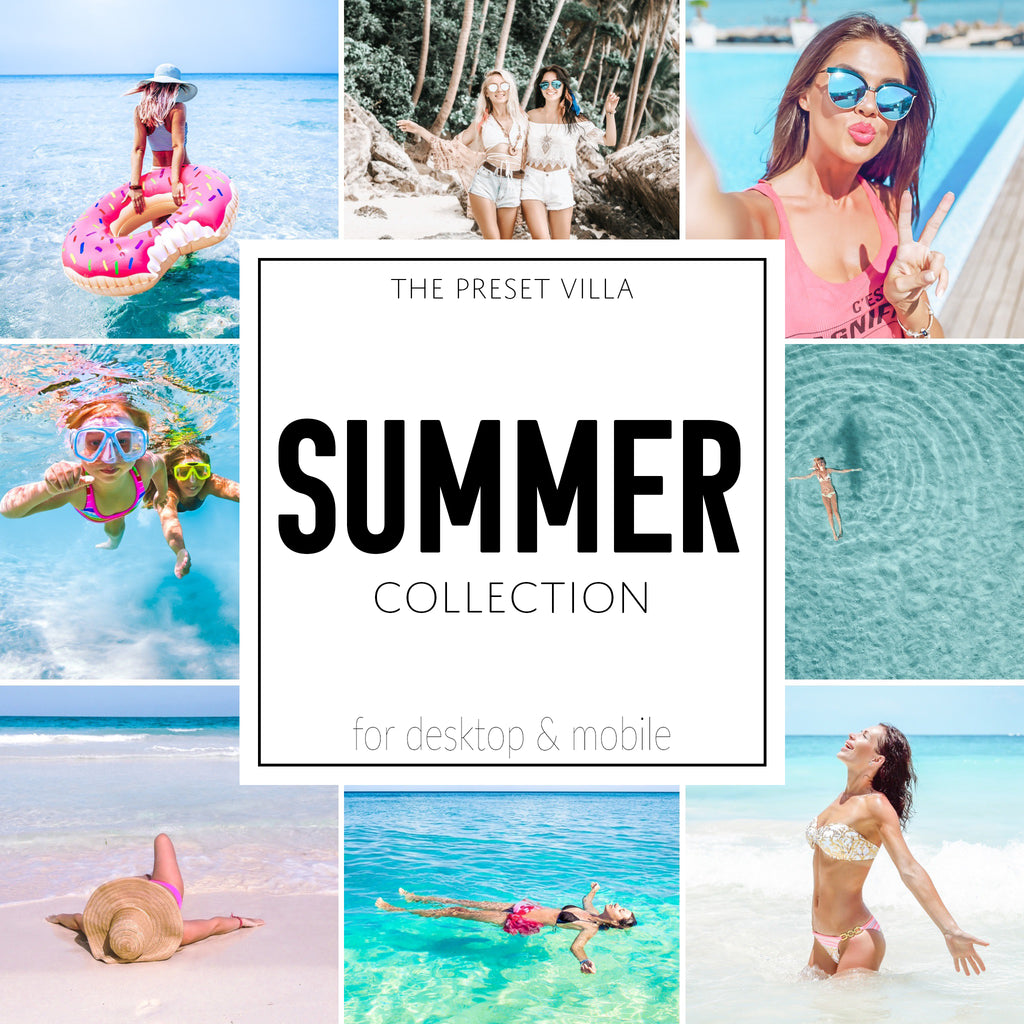 Summer Preset Collection