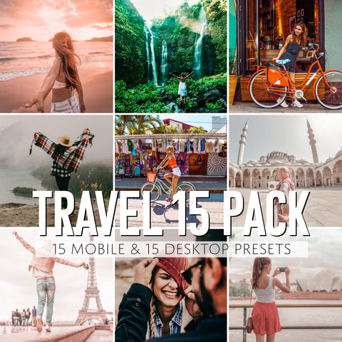 15 Pack Travel Presets