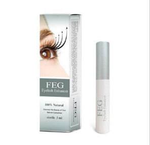 Free Shipping 100% original feg eyelash enhancer 7 Days Grow 2-3 mm eyelashes, face care,eyelash serum Waterproof Mascara